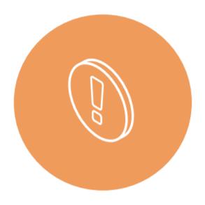 Challenge icon orange