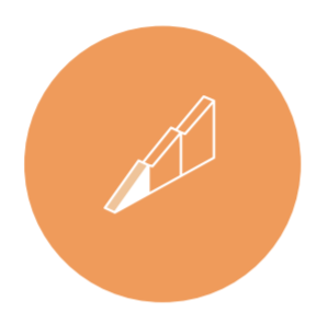 Solution orange icon